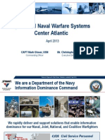Space and Naval Warfare Systems Center Atlantic (SPAWAR) Military IT Industry Day Presentation