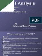 Asdaque Musaud SWOT Analysis