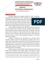 Proposal Seminar Entrepreneur Bina Bangsa Banten
