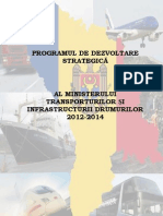 programul de dezvoltare strategica a mnisterului transporturilor si infrastructurii drumurilor