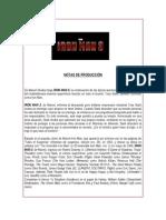 Iron Man 3 Prodnotes Text Final 4-10-13 - Esp