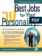 Best Jobs for Your Personality