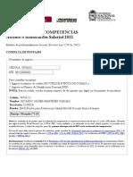Consulta de Resultados Evaluación de Competencias, Ascenso o Reubicación Salarial 2012