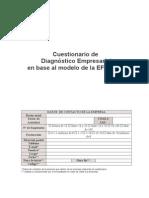 Cuestionario de Diagnòstico Empresarial en Base al Modelo de la EFQMMG