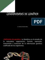 01 GENERALIDADES DE GENÉTICA