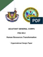 FINAL Organizational Design PAPER 29 Aug 05