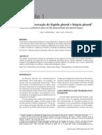 Coleta e Preservação do líquido Pleural e Biópsia Pleural