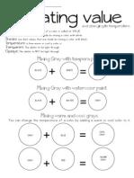 Mixing Gray Worksheet