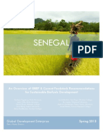 Senegal Sustainable Bio-fuel Research Study 2013