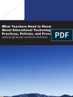 What Teachers Need to Know About Educational Technology Practices, Policies, and Procedures