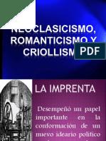 NEOCOLONIALISMO, ROMANTISISIMO