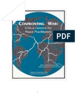 Confronting War - Critical Lessons for Peace Practioners