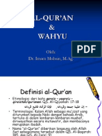 1-WAHYU & AL-QUR'AN
