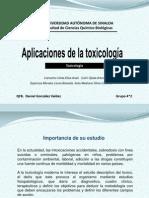 6-Aplicacionesdelatoxicologa(RESUMEN)