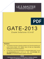 Gate 2013 Solutions