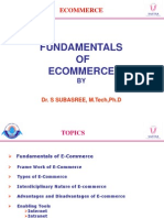 Fundamentals of ECommerce