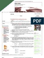 Procedimiento para la clasificación de suelos