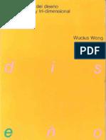 Wong Wucius - Fundamentos Del Diseño Bi Y Tridimensional