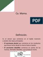 CA Mama(Def,Causas)