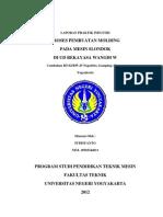 Laporan Pi Fitriyanto PT.mesin UNY