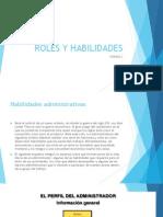 Roles y Habilidades - SEMANA 3