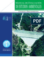 Manual de evaluación de estudios ambientales