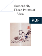 Gelassenheit From 3 Points of View (Dogen)