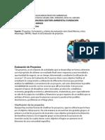 Importancia de La Evaluacion de Proyectos Luis Amigo
