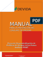 Manual de Prevencion de Consumo de Drogas