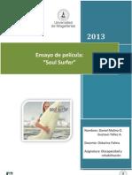 Ensayo Soul Surfer