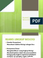 Ppt_ruang Lingkup Biologi