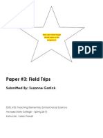 EDEL453 Spring2013 Paper3a-FieldTrips SuzanneGARLICK