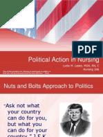 Political Action in Nursing