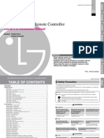 Lg Pqrcvsl0qw Owners Manual
