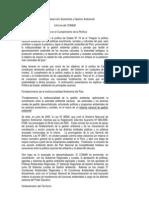 ConsejoNacionaldelAmbiente-Politica19 Avance en Cumplimiento