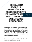 ion Sobre Educacion y Divers Id Ad Afectivo Sexual