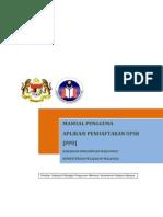 Manual PPD SUP (pendaftaran upsr Online)
