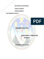 Zayda Ramos Resumen Ejecutivo Planificacion Estrategica RRHH