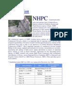 IntroductionTO NHPC
