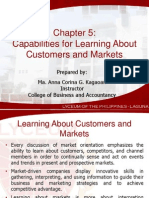 Chapter 5 Capabilities for Learning About Customers and Markets