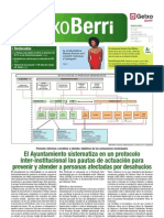 Protocolo inter-institucional para prevenir y atender a personas afectadas por deshaucios