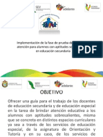 Presentacion Secundaria 4