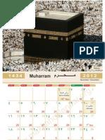 Kalender Islam 1434 H