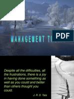Management Thesis Orientation Presentation