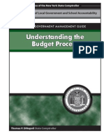 Local government management guide- understanding the Budget process