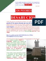 LOS PEORES DESAHUCIOS ÁNGELUS MARZO