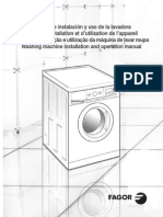 User Guide Washing Machine