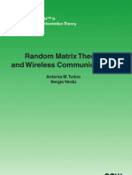 Random Matrix Theory and Wireless Communications