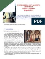 In Preghiera con b. A. Marvelli