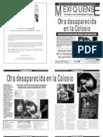Versión impresa del periódico El mexiquense 25 abril 2013